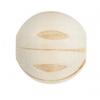Wood Bead Melon 20mm Natural/Light Brown